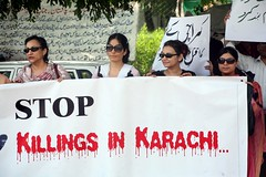 Protest against Karachi Killings 19th August 2011 - Copy