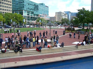 FIRST DAY OF OCCUPY BALTIMORE PROTEST