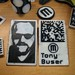 2 Color Business Card by Tony Buser