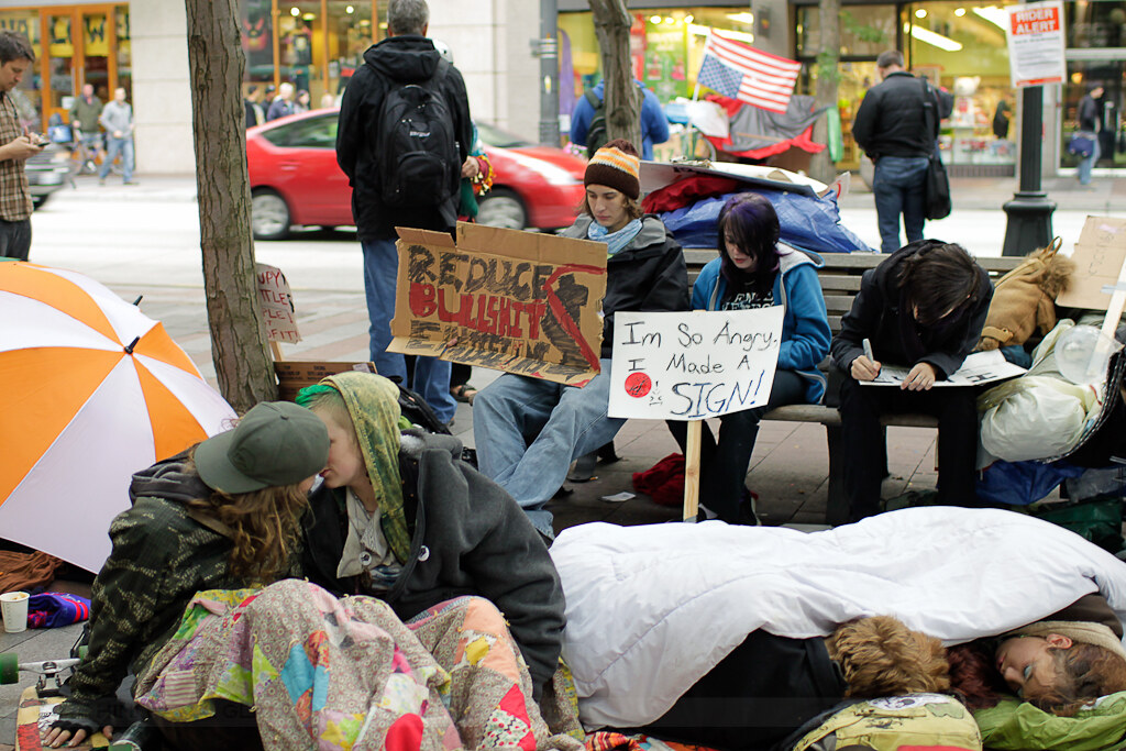occupy seattle - reduce bs