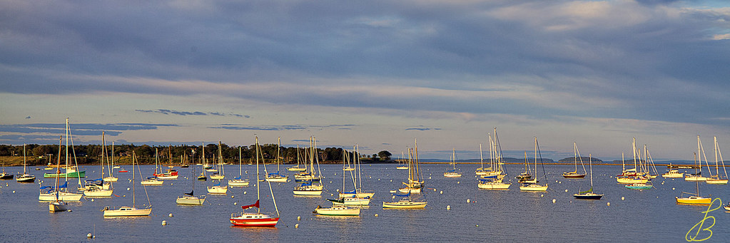 Rockland Bay at Dusk