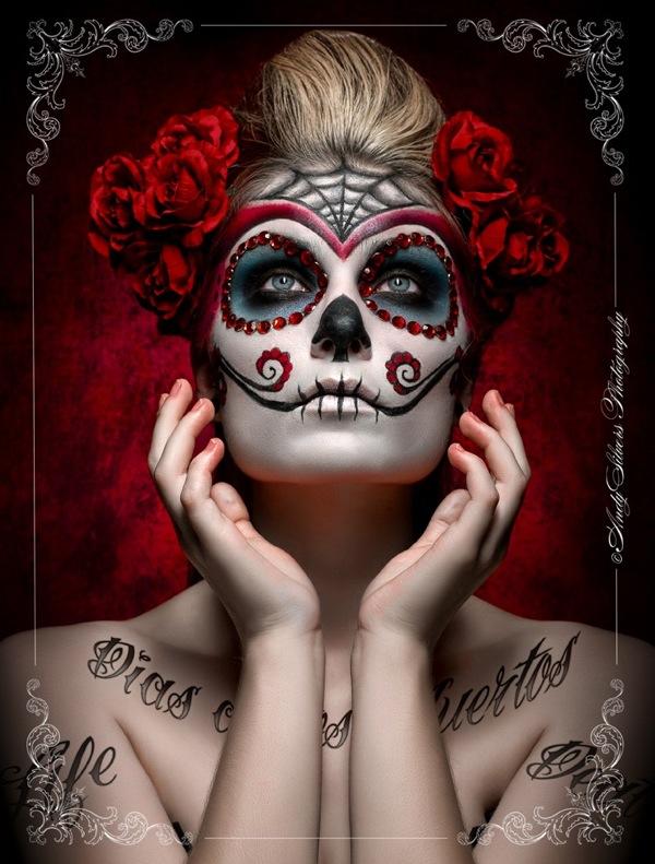 DIY La Catrina Day Of The Dead Halloween Costume | - Trashion Helsinki