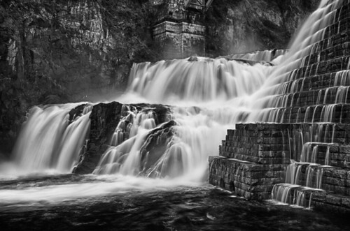 bw ny newyork water waterfalls crotondam nikkor2470mmf28ged nikond7000