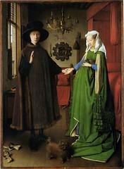 Jan Van Eyck, Wedding Portrait, (Marriage of Giovanni Arnolfini), 1434