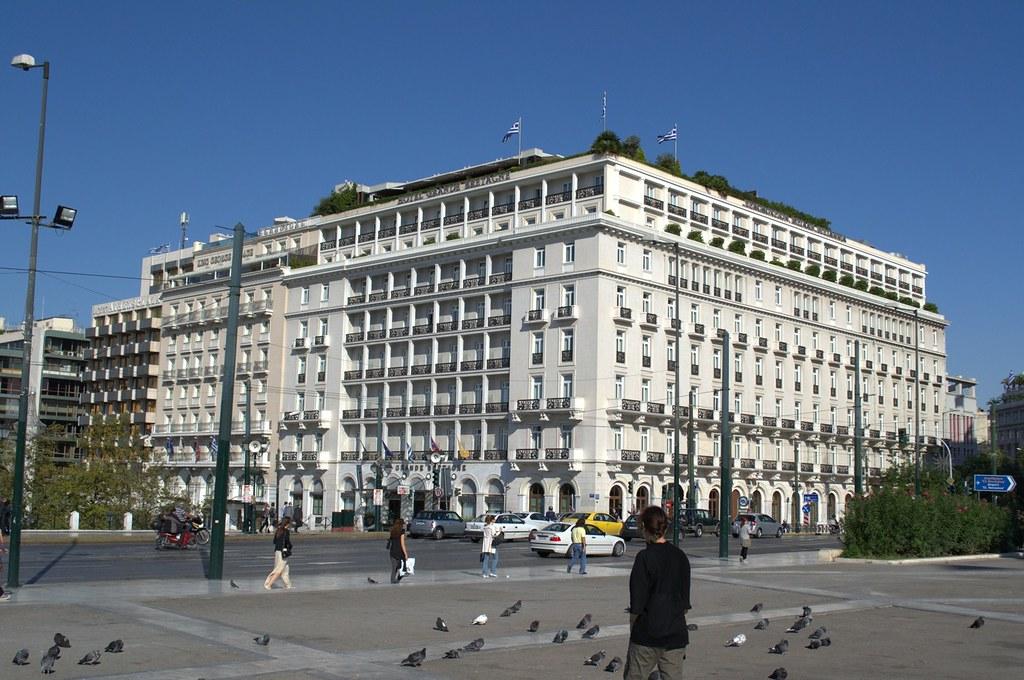 Hotel Grande Bretagne, Syntagma, Athens.