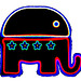 Republican Elephant - Icon