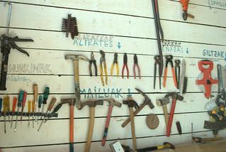 biblioteca de herramientas (se evitan así duplicidades y gastos innecesarios)