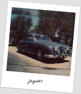 63 Mk 11 Jaguar 3.4 - Polaroid