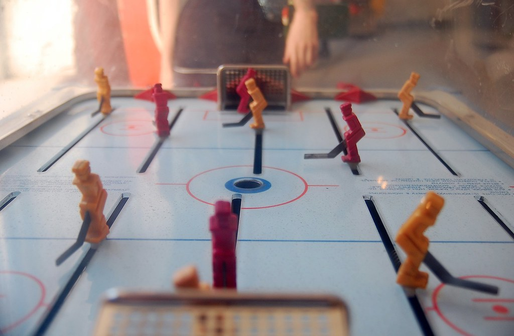 ice hockey foosball