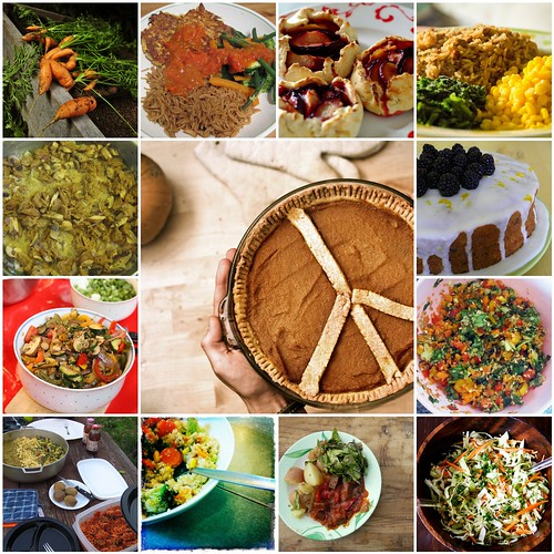 Vegan Food - It's What Should Be For Dinner! mosaic~