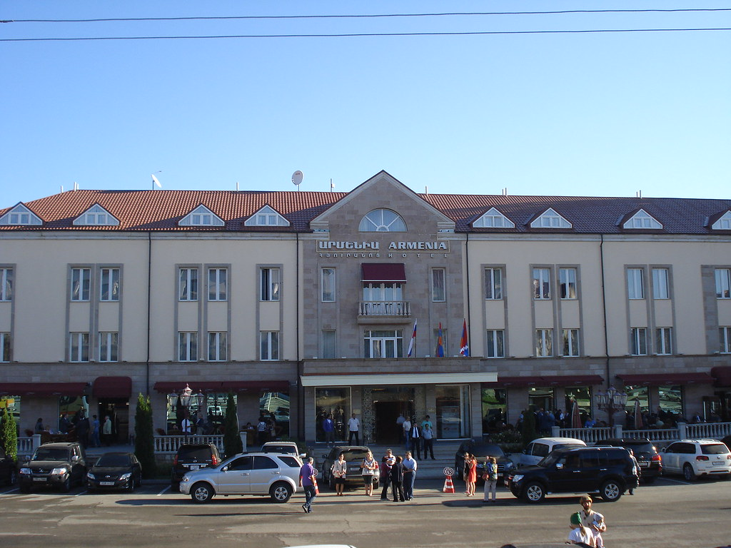 Hotel Armenia  in Stepanakert,NKR