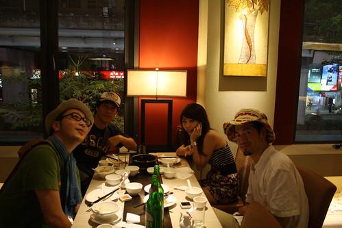[台湾2.5] 上海料理で有名な高記2号店 Kao Chiでディナー。上海料理を満喫
