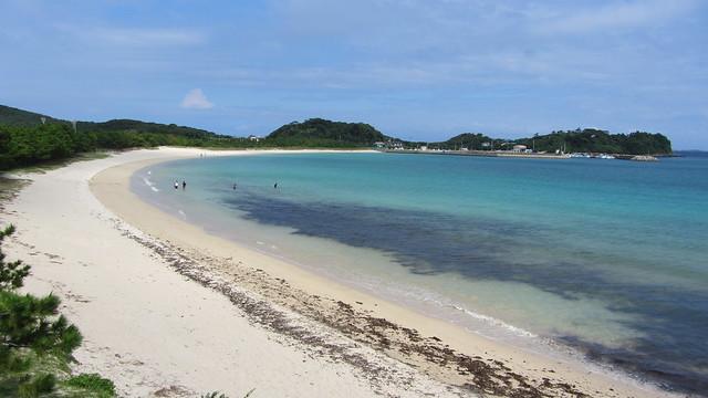筒城浜海水浴場(壱岐)