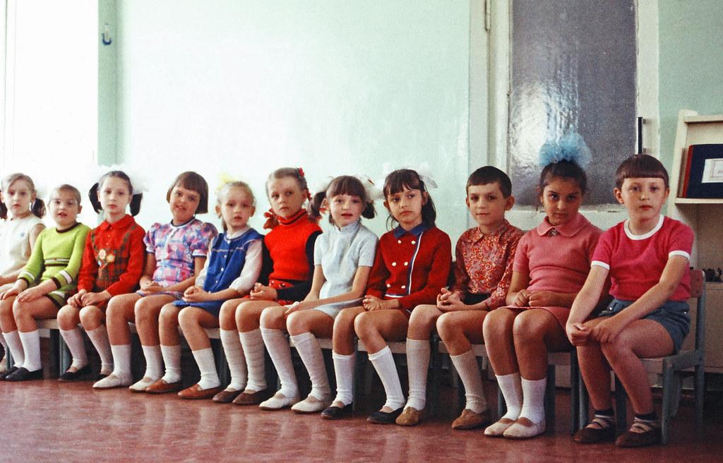 ODESSA, Ukraine-Kindergarten in Odessa, 5-27-1977