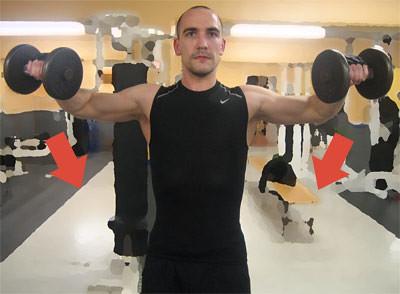 Dumbbell Side Raise (Hantellyft åt sidan), Strength Training (Styrketräning)