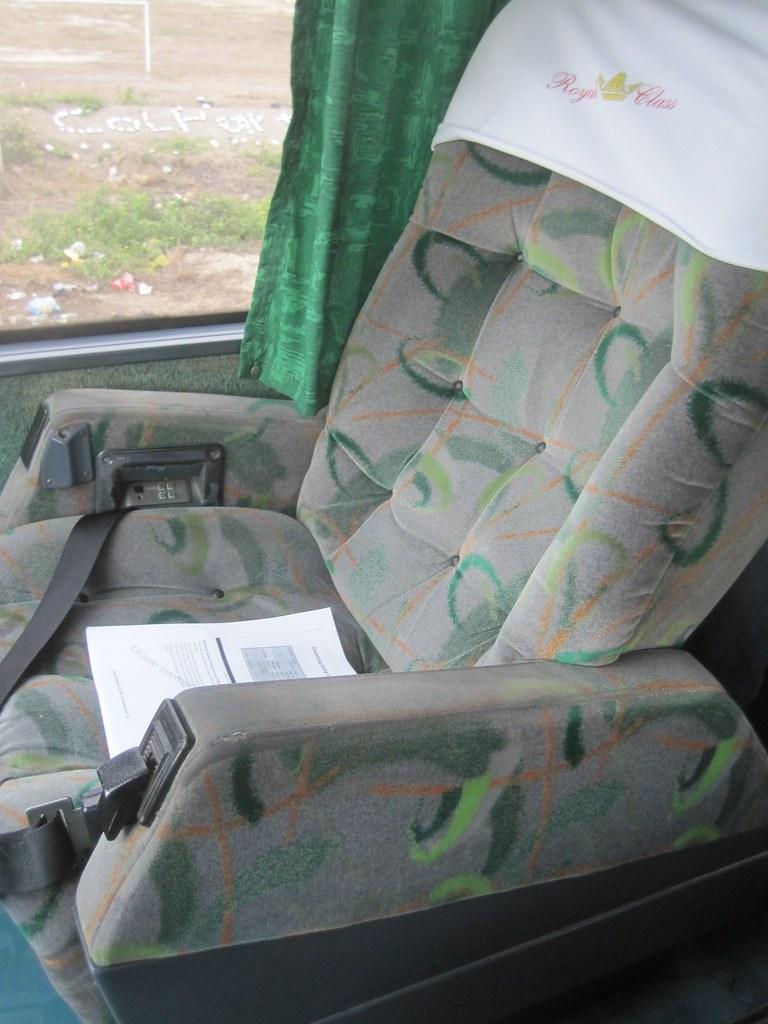 Ormeno Bus Seat