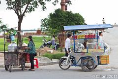 Mobile food stall