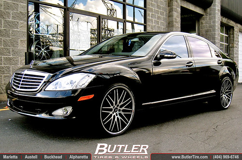 Mercedes s550 with 22in lexani cvx44 wheels a photo on for Mercedes benz s550 rims for sale