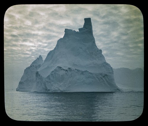 A turreted berg [Australasian Antarctic Expedition, 1911-1914]
