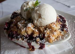 Farmstand Blackberry Cobbler