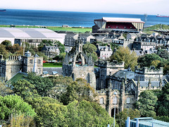 Old Aberdeen from New Library