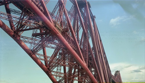 Forth Rail Bridge, Mamiya Universal - Portra 160