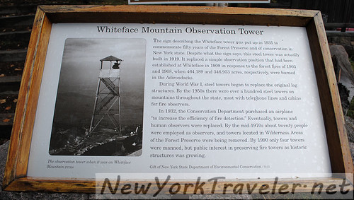 55 About Whiteface Fire Tower