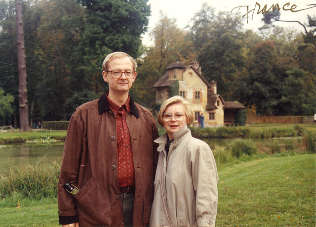 Mom and Dad in France
