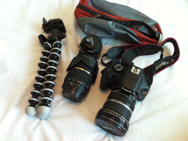 Protect your camera gear before traveling from flickr user patio