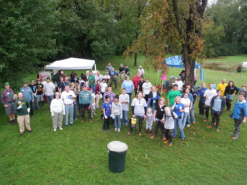Bread and Cheese Creek Cleanup September 24, 2011