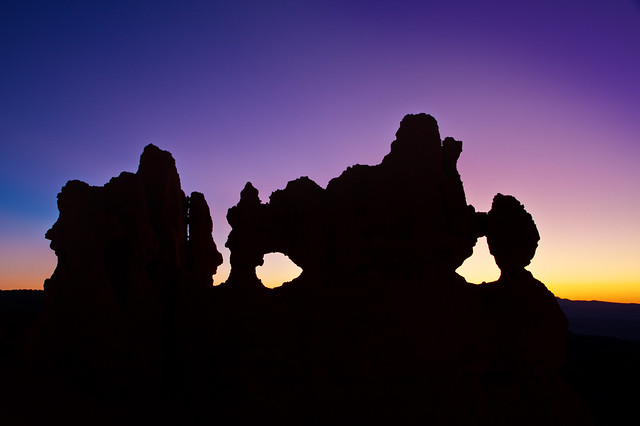 Predawn behind 'The Mask' - Bryce Canyon NP