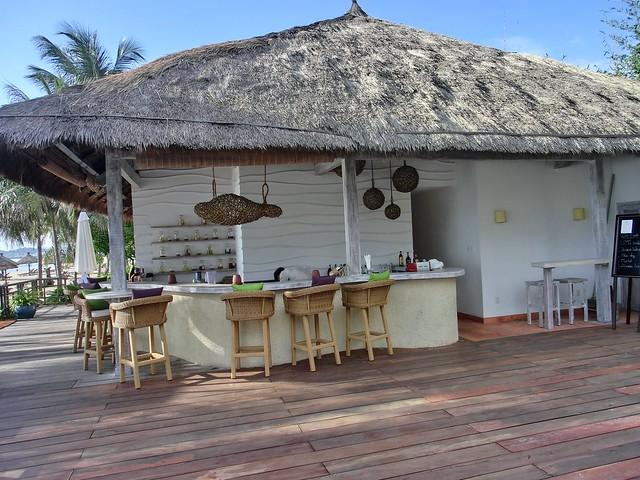 Hotel Bar in Terrace Pool - Evason Ana Mandara Nha Trang