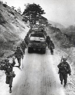 5th Marine Supply Trucks, 12 April 1951