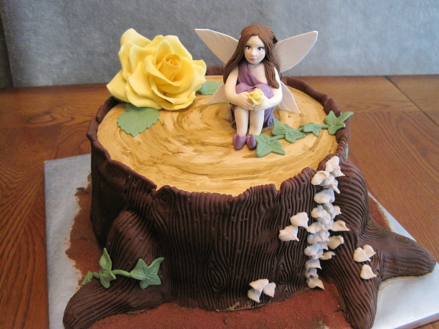 Woodland Fairy Cake Everything On This Cake Is Edible