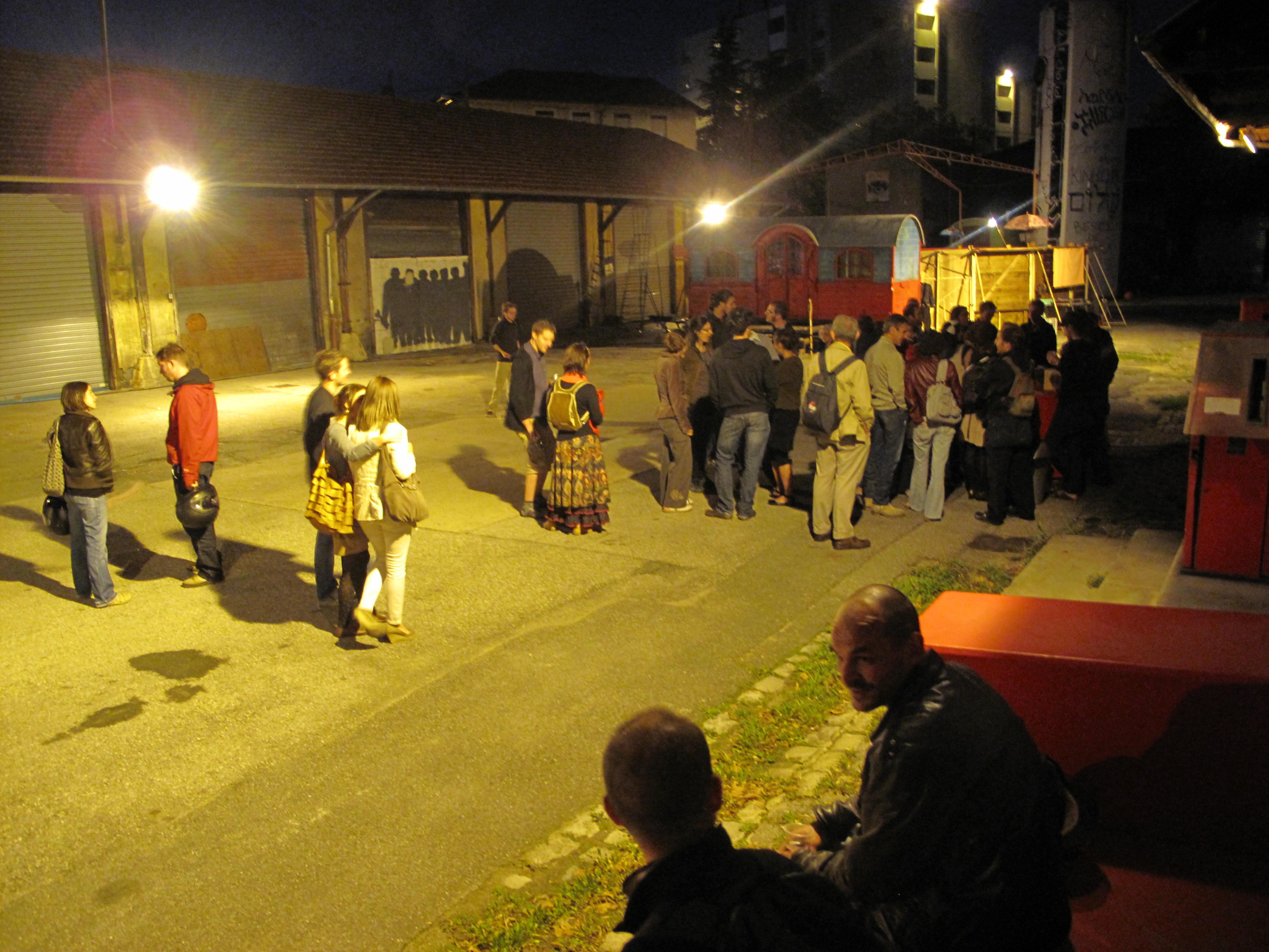 Compagnie Amaranta & Martin Petitguyot - Sortie d'atelier - 22 septembre 2011