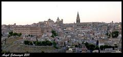 Nocturno. Vista de Toledo