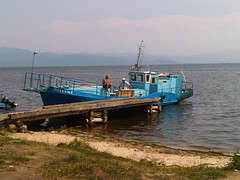 Daytripper Boat on Lake Baikal East Coast