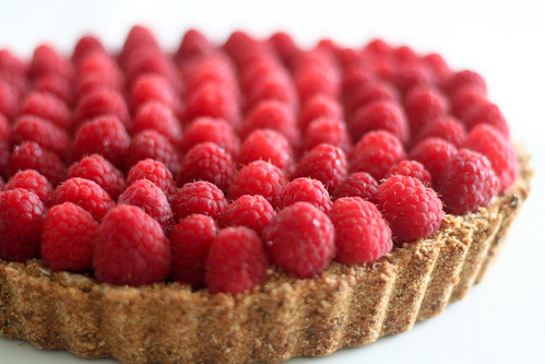 Raspberry Chocolate Pie-7