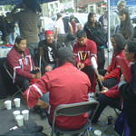 Insite supreme court ruling: drumming on the sidewalk