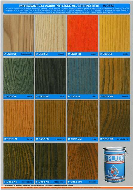 Cartelle Colori IA 0552 XX impregnante allacqua per legni di ...
