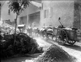 Un coup de collier, Luzenac, 20 août 1902