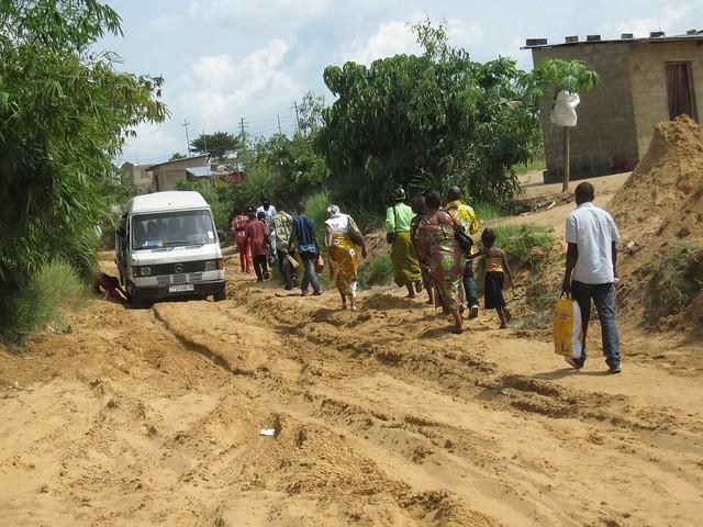 The road to Kimwenza
