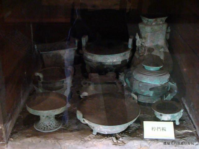 1106河南三门峡 虢国博物馆 西周车马坑遗址 战车战马 贵...