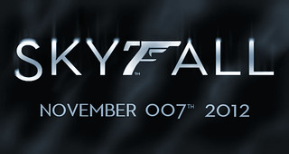 SKYFALL - James Bond Logo