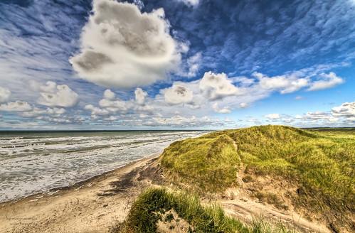 sand coast northsea, Denmark
