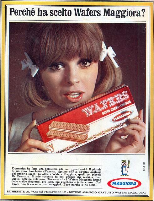 adv - 1966 - biscotti wafers