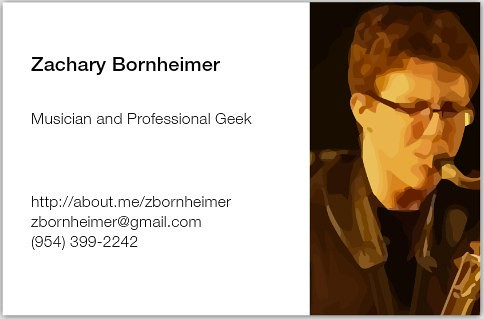 Who am I? http://about.me/zbornheimer