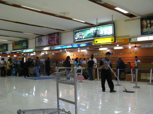 日惹国际机场大堂