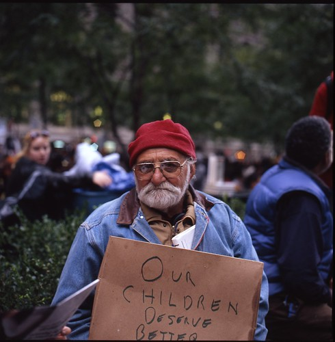 Occupy Wall Street Day 35: Our children deserve better