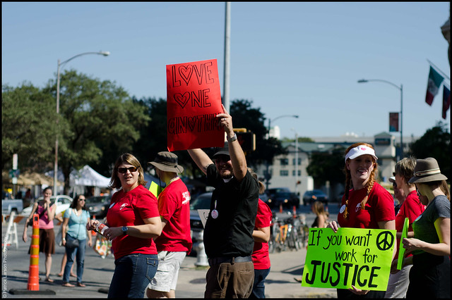 Gay Pride Parade Austin TX 2011. Twitter | Facebook | Web